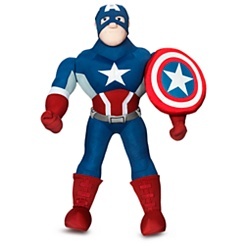 Captain America Plush Doll - 14 3/4''