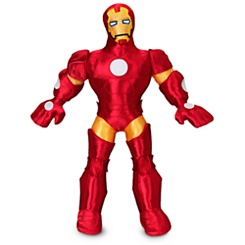 Iron Man Plush Doll - 14 1/2''