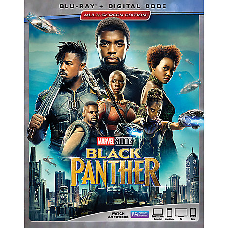 Black Panther Blu-ray Combo Pack Multi-Screen Edition with FREE Lithograph Set Offer - Pre-Order