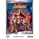 Marvel's Avengers: Infinity War Blu-ray Multi-Screen Edition + FREE Litho Offer