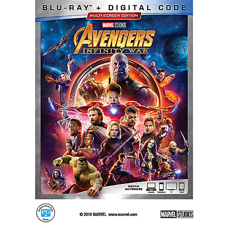 Marvel's Avengers: Infinity War Blu-ray Multi-Screen Edition