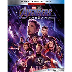Marvel's Avengers: Endgame Blu-ray Combo Pack with FREE Lithograph Set