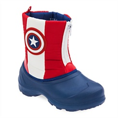 Captain America Rain Boots for Kids