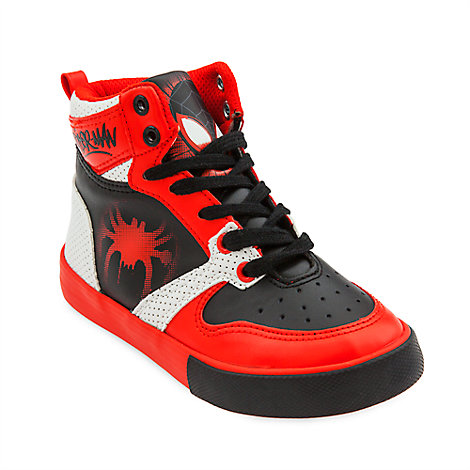 Spider-Man: Into the Spider-Verse High-Top Sneakers for Kids