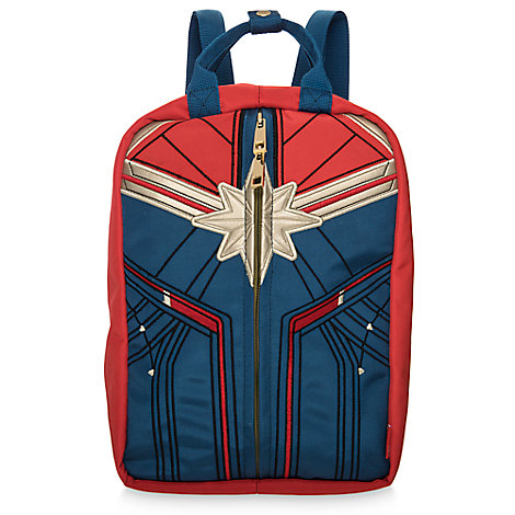 Marvel's Captain Marvel Reversible 2-in-1 Mini Backpack and Handbag for Women