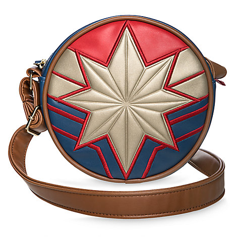 Captain Marvel Circle Crossbody Bag for Tweens
