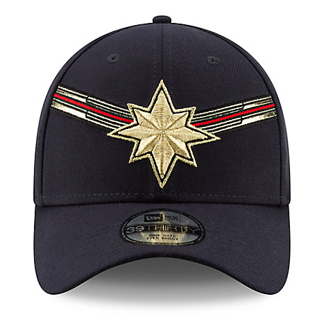 Marvel's Captain Marvel Baseball Cap for Adults by New Era - Marvel Studios 10th Anniversary