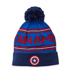 Captain America Knit Bobble Hat for Kids