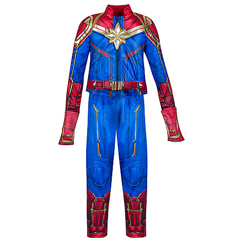 Captain Marvel Costume for Kids