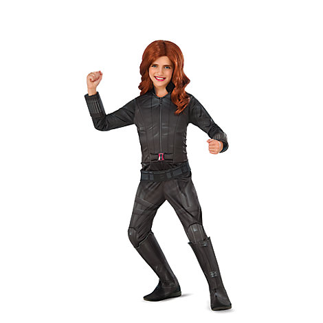 Black Widow Deluxe Costume for Kids by Rubies