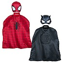 Spider-Man and Black Panther Mask and Cape Set for Kids