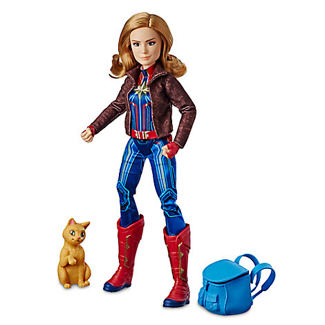 Marvel's Captain Marvel and Marvel's Goose Figure Set by Hasbro