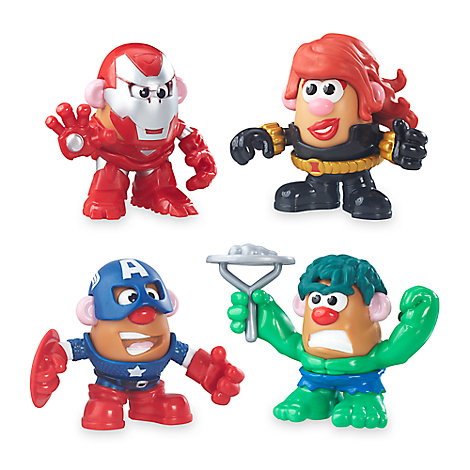 Marvel Mr. Potato Head Super Hero Rally Pack