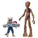 Rocket Raccoon and Groot Action Figures - Marvel's Avengers: Infinity War