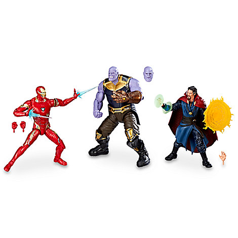 Marvel's Avengers: Infinity War Action Figure Set - Legends Series - Marvel Studios 10th Anniversary