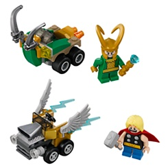 Mighty Micros: Thor vs. Loki Playset by LEGO