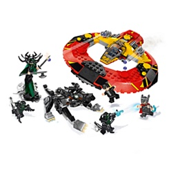 The Ultimate Battle for Asgard Playset by LEGO - Thor