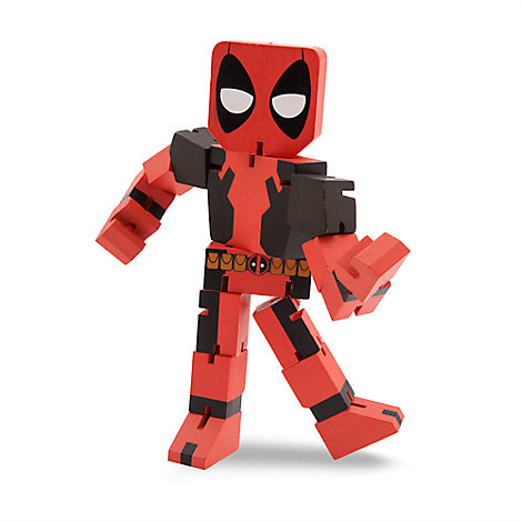 Deadpool Wood Warriors Figure