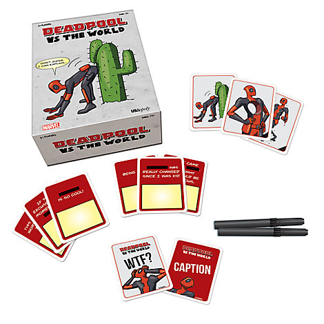 Deadpool vs The World Game by USAopoly