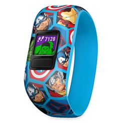 Avengers Vivofit Jr. 2 Activity Tracker Device for Kids with Stretchy Band