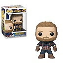 Captain America Pop! Vinyl Bobble-Head Figure by Funko - Avengers Infinity War