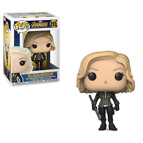Black Widow Pop! Vinyl Bobble-Head Figure by Funko - Marvel's Avengers: Infinity War