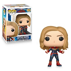 Captain Marvel Pop! Vinyl Bobble-Head Figure by Funko - Chase Variant