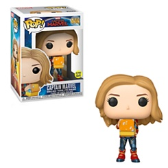 Marvel's Captain Marvel Pop! Vinyl Bobble-Head Figure by Funko