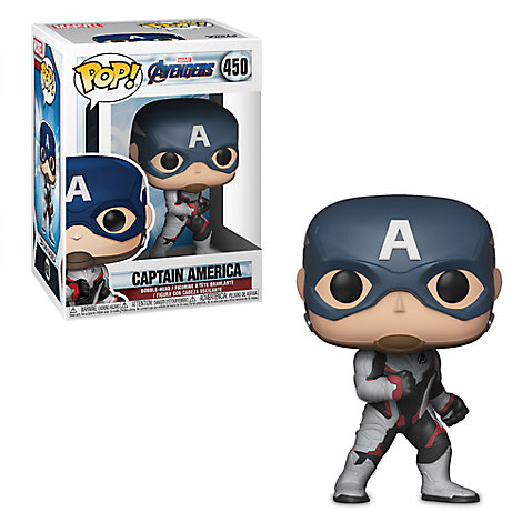 Captain America Pop! Vinyl Bobble-Head Figure by Funko - Marvel's Avengers: Endgame