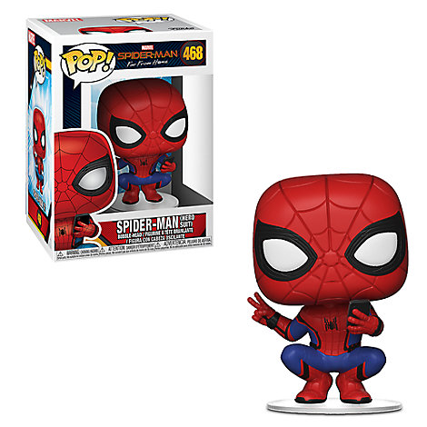 Spider-Man Hero Suit Pop! Vinyl Figure by Funko - Spider-Man: Far from Home