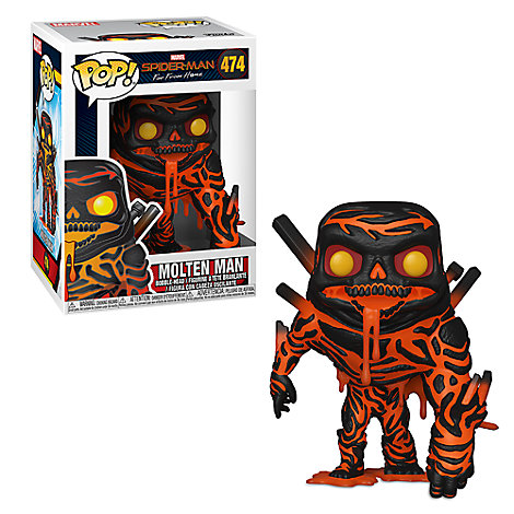 Molten Man Pop! Vinyl Figure by Funko - Spider-Man: Far from Home