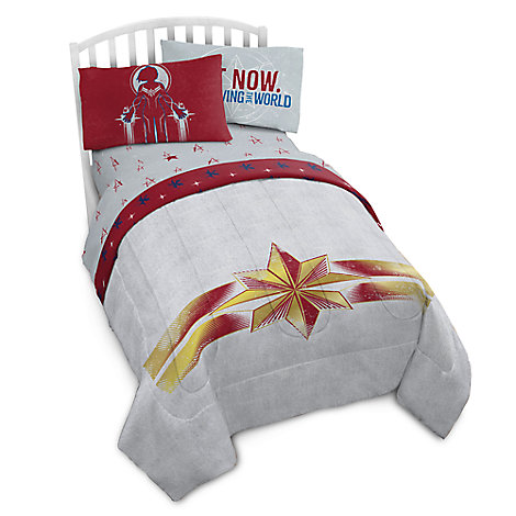 Captain Marvel Comforter - Twin