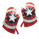 Captain America Oven Mitt Set for Adults