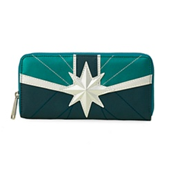 Marvel's Captain Marvel Wallet by Loungefly