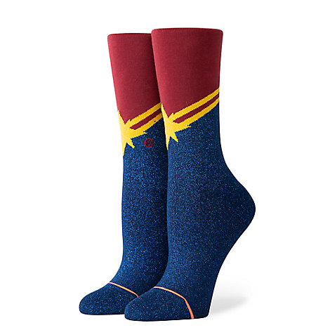 Marvel's Captain Marvel Socks for Adults by Stance