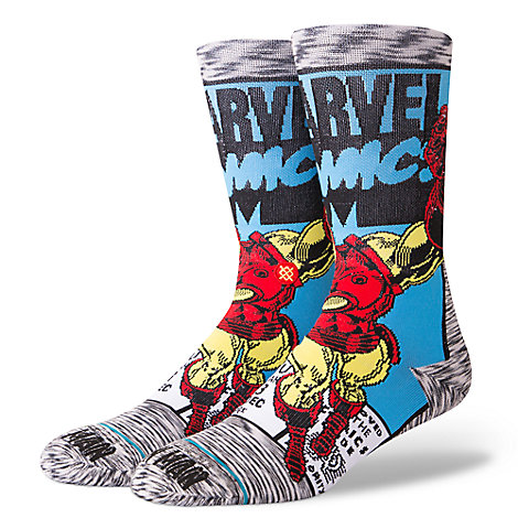 Iron Man Socks for Adults by Stance