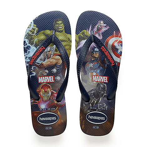 Marvel Avengers Flip Flops for Kids by Havaianas