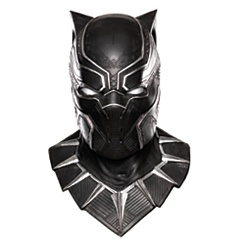 Black Panther Deluxe Mask for Adults by Rubies