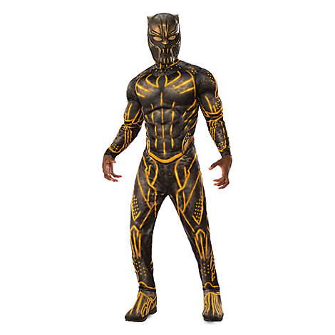 Killmonger Deluxe Costume for Adults by Rubie's - Black Panther