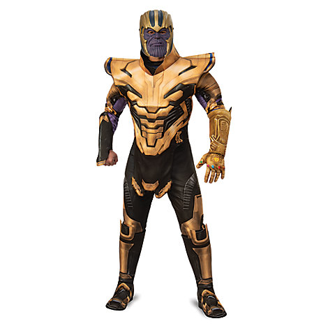 Thanos Deluxe Costume for Adults by Rubie's