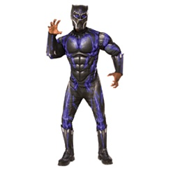Black Panther Deluxe Costume for Adults by Rubie's