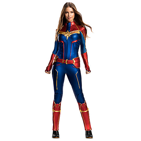 Marvel S Captain Marvel Costume For Adults By Rubie S Costumes Costume Accessories Marvel Shop Captain marvel costume marvel comics ms. marvel shop official marvel merchandise