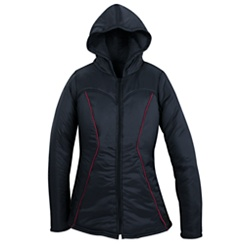Black Widow Hooded Jacket for Women by Her Universe