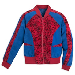 Spider-Man Bomber Jacket for Women by Her Universe