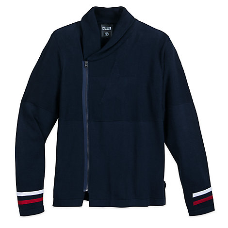 Captain America Cardigan for Men by Musterbrand