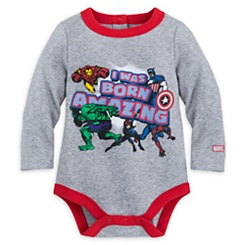 Marvel Comics Cuddly Bodysuit for Baby