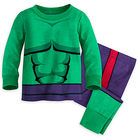 The Hulk PJ PALS Set for Baby