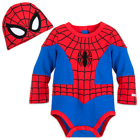 Spider-Man Costume Bodysuit for Baby