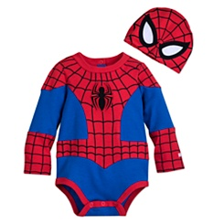 Spider-Man Costume Bodysuit Set for Baby