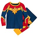 Marvel's Captain Marvel Costume PJ PALS for Baby